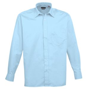 Long sleeve poplin shirt Thumbnail