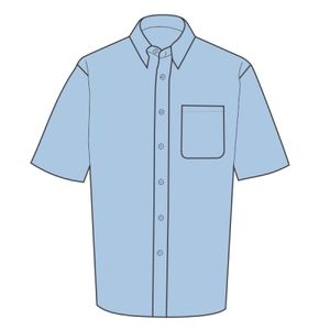 Premium non iron corporate shirt short sleeved Thumbnail